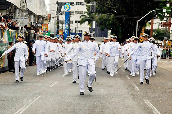 Marinha no desfile de 7 de setembro