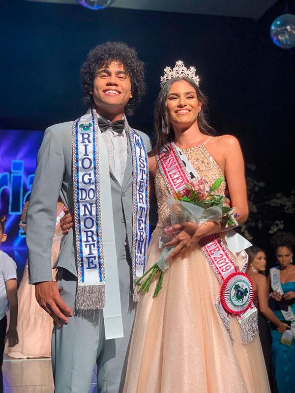 Eleitos os representantes do Estado para disputa do Miss e Mister Teen Brasil