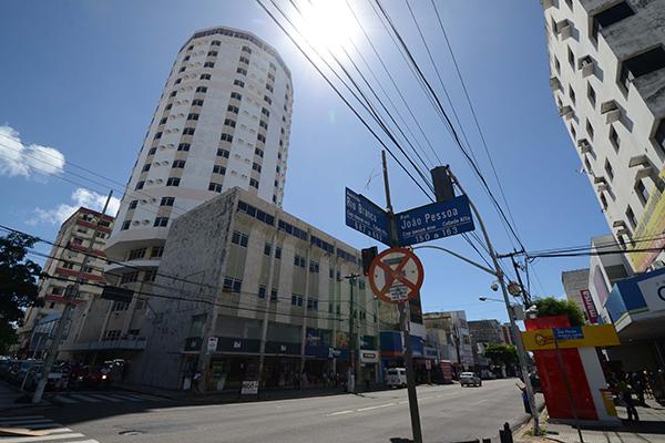 Ruas exclusiva para pedestres