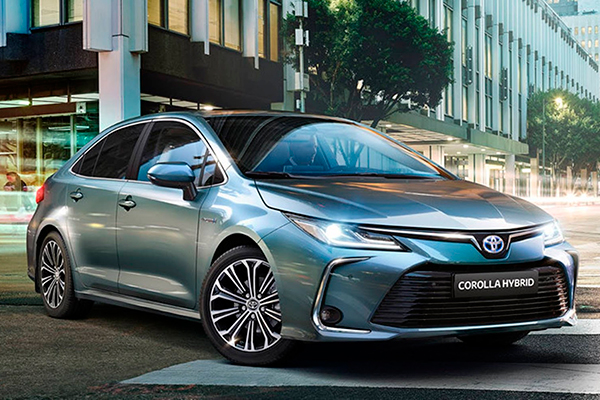 O Novo Corolla está em exposição  na Toyolex, revenda autorizada da marca Toyota em Natal. O modelo chega à sua 12ª geração