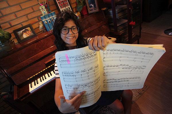 A pianista Isadora Resende participa do Festival de Piano de Natal, realizado na UFRN