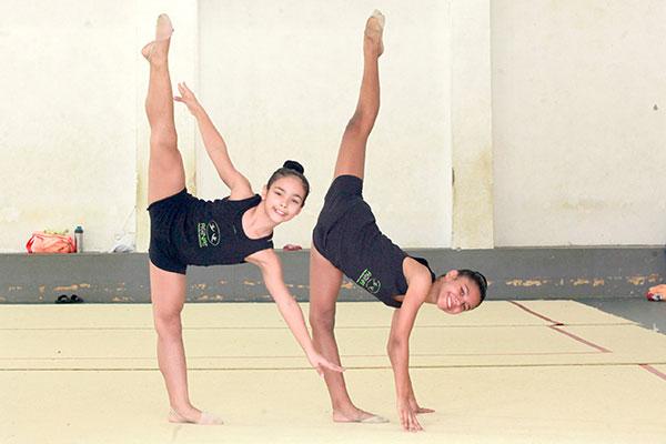 Com as vitórias, Júlia e Mariana foram classificadas para o torneio nacional de ginástica rítmica