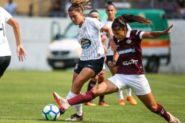 Primeiro jogo da final do Brasileiro Feminino terminou em 1x1