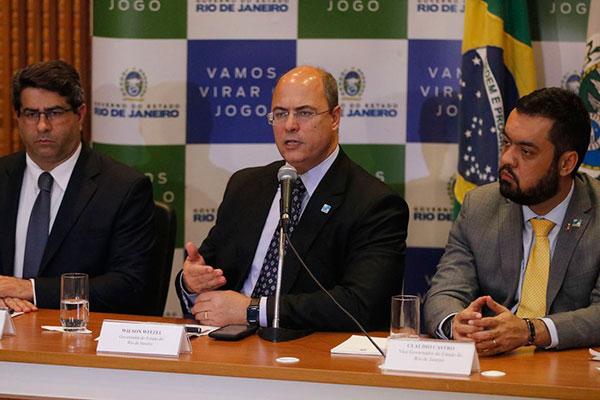 Governador do Rio falou sobre a morte da menina nesta segunda-feira