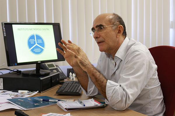Ivonildo Rêgo explica que atrair novas empresas de grande e médio porte, além de continuar fomentando as start-ups, são os principais objetivos do Parque