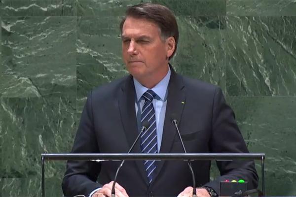 Bolsonaro discursa em Assembleia Geral da ONU
