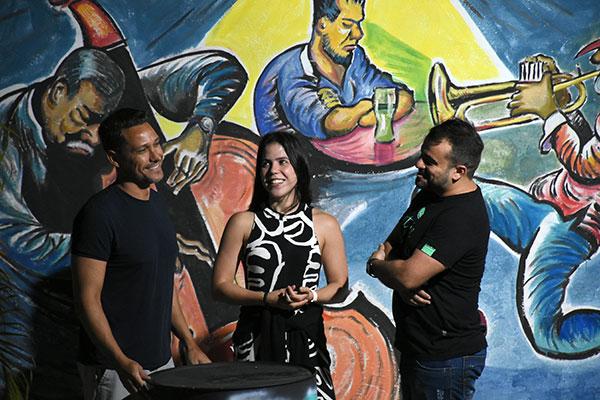 Ênio Vasconcelos, Roberta Duarte e Daniel DG propõem nova ativação do clube de Radioamadores