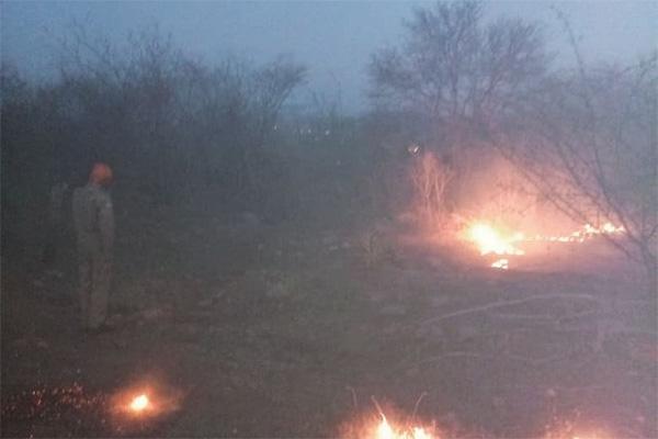 Bombeiros seguem combatendo incêndios no Rio Grande do Norte