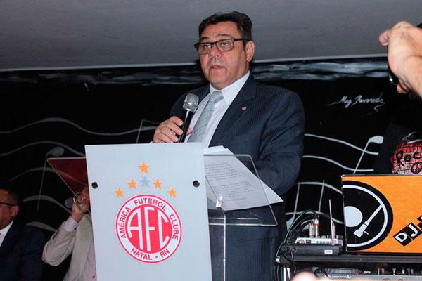 Eduardo Rocha abriu mão do direito de concorrer a reeleição