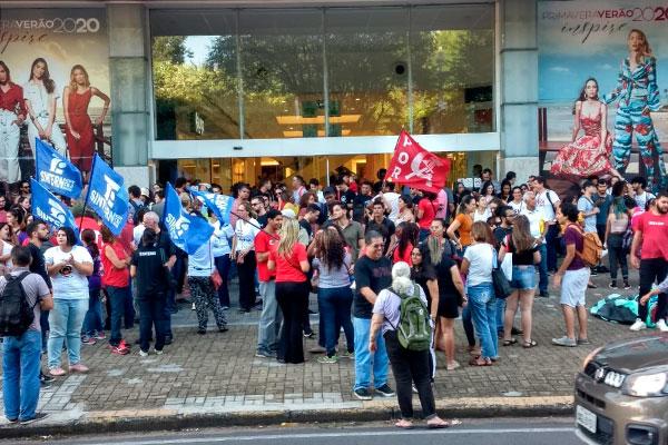Protesto é em defesa da educação e contra o Future-se