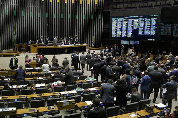 Senadores concluem, em plenário, a votação da reforma da Previdência em primeiro turno