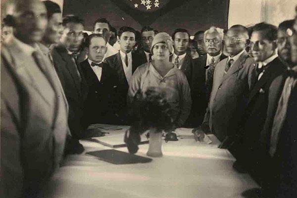 Alzira Soriano em foto de 1929: primeira prefeita de Lajes