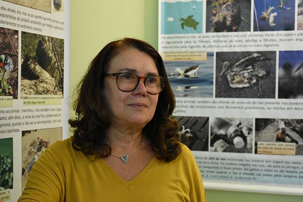 Maria Christina Araujo, professora do Departamento de Oceanografia da UFRN