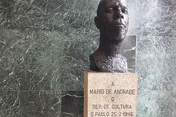 Mário de Andrade, bronze de Victor Brecheret