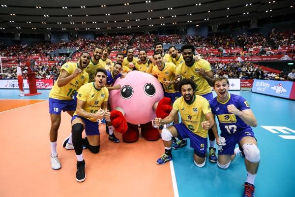 Brasil campeão de vôlei