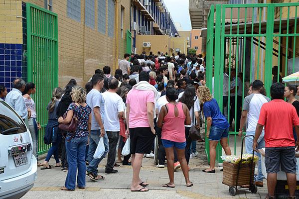 No RN, de acordo com o Inep, quase 120 mil candidatos estão confirmados para o exame deste ano