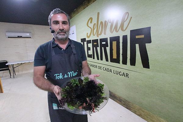 Chef português diz que é preciso informar para dar ter nossos alimentos valorizados