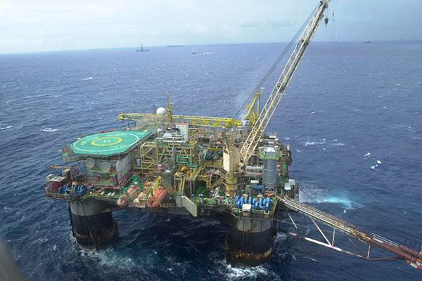 A produção total no trimestre foi de 2,878 milhões de barris