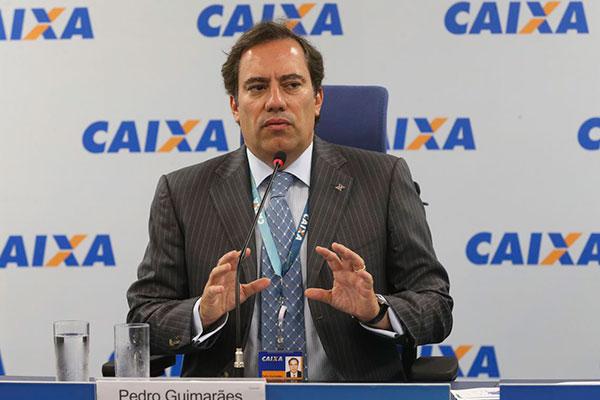 Pedro Guimarães diz que antecipação deve-se à eficiência da CEF