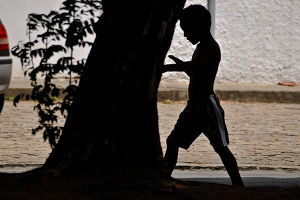 Ministério Público e SEAS trabalham para retirar crianças das ruas