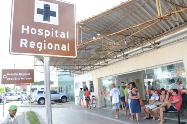 O Hospital Deoclécio Marques e o Hospital Walfredo Gurgel têm atendimento comprometido