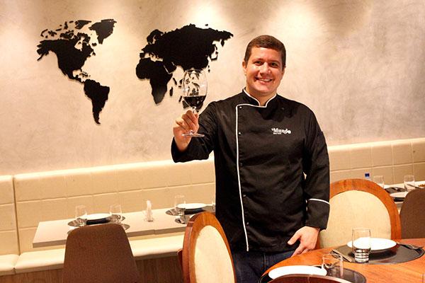 O paraense Sandro Dutra investe em cozinha variada, com pegada francesa