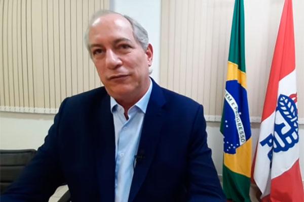 Ciro Gomes concedeu entrevista e disparou contra Lula e Bolsonaro