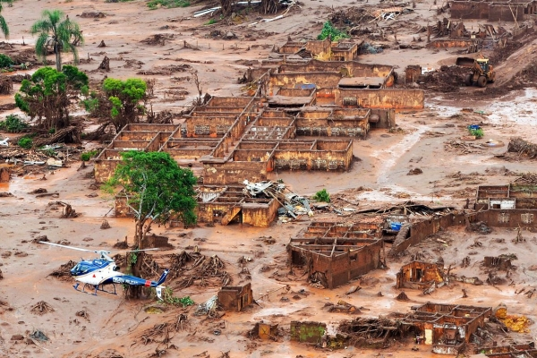 Desastre ambiental em Mariana (MG)