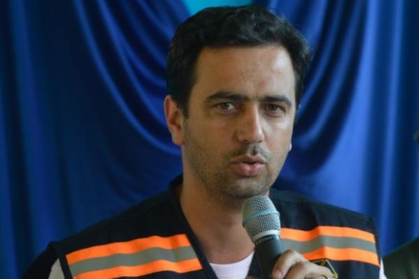 O prefeito de Mariana, Duarte Júnior