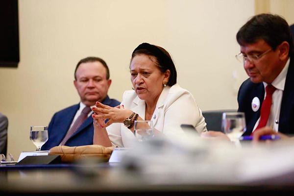 Fátima Bezerra destacou a importância do consórcio