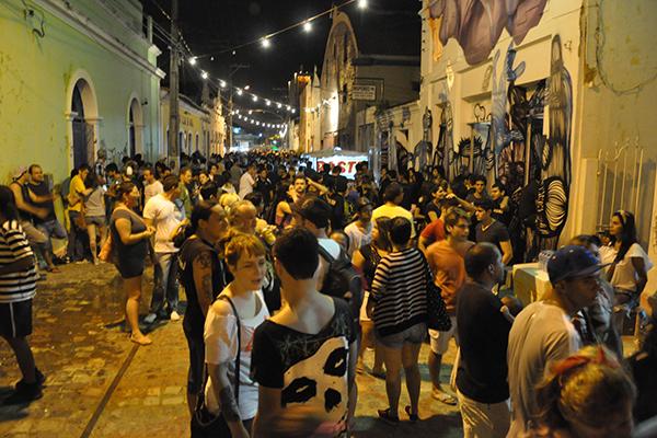 A Rua Chile, epicentro da cultura alternativa em Natal, volta a abrigar novos eventos culturais neste fim de semana