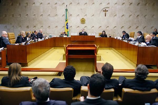 Ministros do Supremo Tribunal Federal  julgaram o mérito de três ações que tratam sobre a execução antecipada de pena