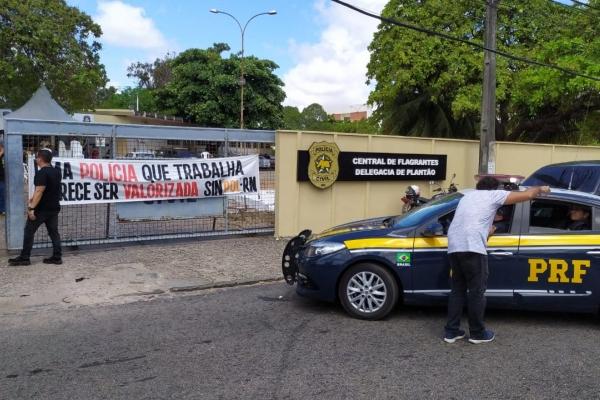 PRF não consegue registrar ocorrência na Central de Flagrantes