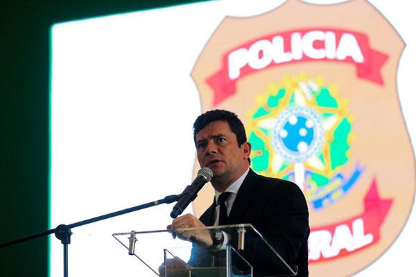 Sérgio Moro, ministro da Justiça