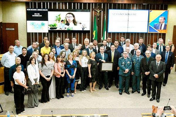 Rogério Marinho foi homenageado na Assembleia Legislativa