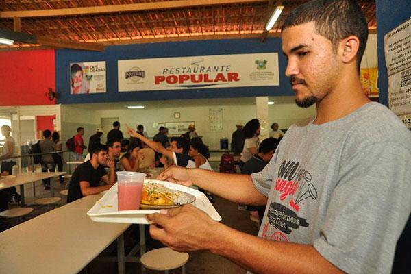 Além de almoço, restaurante popular no Campus Mossoró oferece café da manhã e sopa cidadã