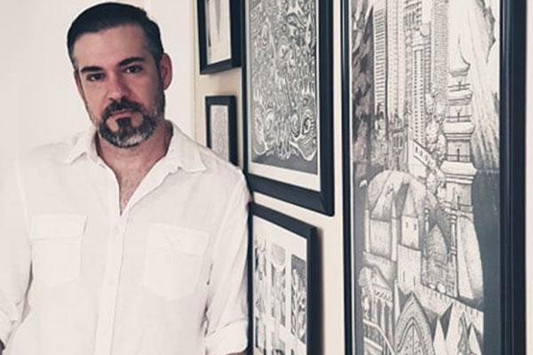 Ramiro Barros expõe produções recentes e mais antigas