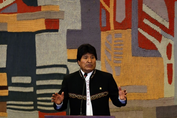 Ex-presidente boliviano, Evo Morales