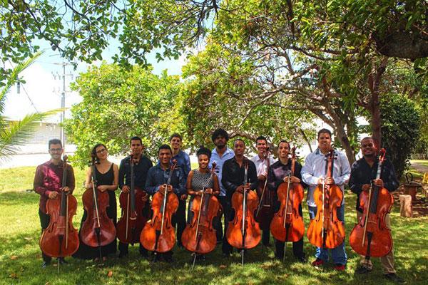 O grupo UFRN Cellos fará o concerto Tempos da Bossa Nova, na programação de sexta-feira