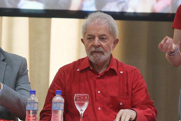 Luiz Inácio Lula da Silva voltou a critica a condução da economia