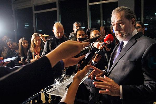 Presidente do STF, Dias Toffoli afirmou que não acessou as informações sigilosas do Coaf