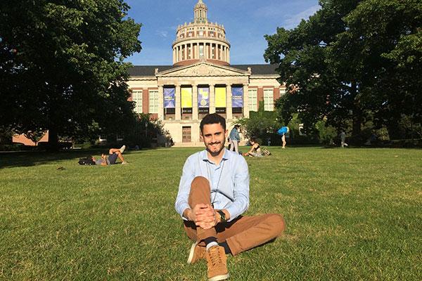 Atualmente estudando nos Estados Unidos, Thompson Marinho, fala sobre suas conquistas