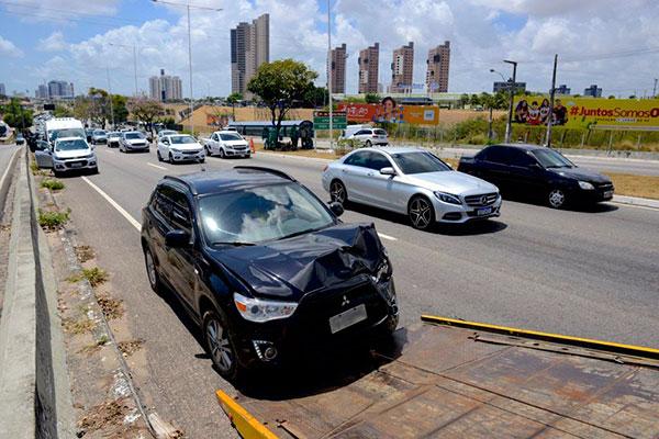 Elementos estruturantes das vias urbanas também podem colaborar para a redução da gravidade das ocorrências
