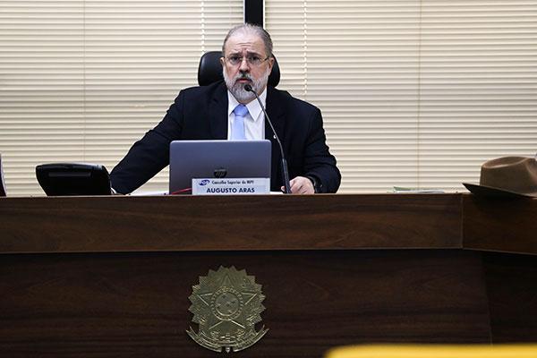 Augusto Aras classificou a  a solicitação de Dias Toffoli como demasiadamente interventiva