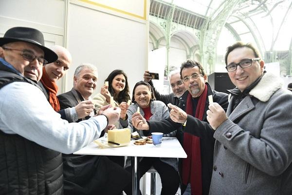 Governadora participa de apresentação de queijos em Paris
