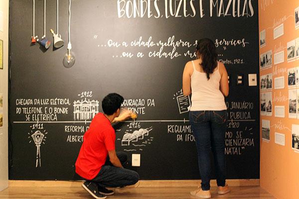 Exposição propõe reflexão sobre a memória e a cidade, apontando caminhos para o futuro