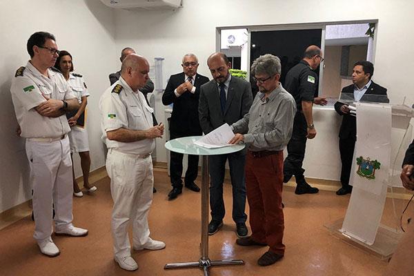 Termo de cooperação foi assinado pelo governador em exercício, Antenor Roberto
