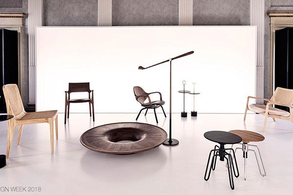 As peças assinadas pelo arquiteto e designer foram presença no Milan Design Week, em 2018