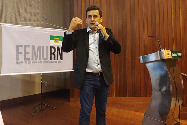 José Cassimiro informou que Natal e Macaíba entraram com ações judiciais individualmente