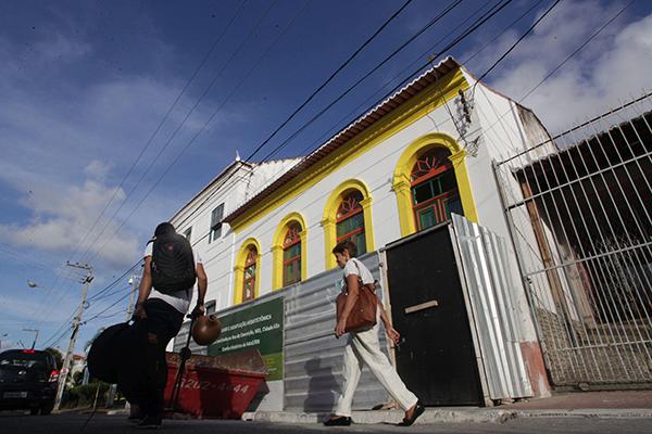 Antigo Armazém Real, na rua da Conceição, no Centro